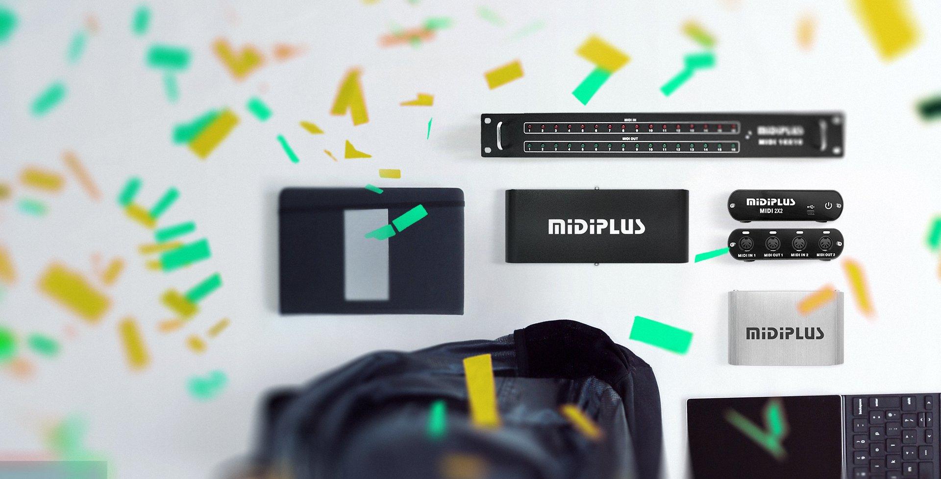 MIDI2x2 series