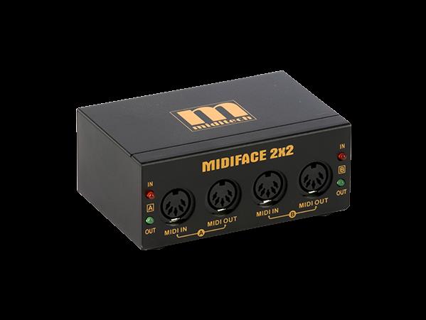 MIDIFACE 2x2